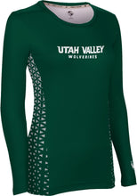 Load image into Gallery viewer, Utah Valley University: Women's Long Sleeve Tee - Geo