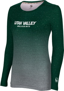Utah Valley University: Women's Long Sleeve Tee - Gradient