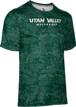 Load image into Gallery viewer, Utah Valley University: Men's T-shirt - Digi Camo