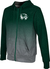 Load image into Gallery viewer, Utah Valley University: Boys' Full Zip Hoodie - Gradient