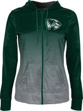 Load image into Gallery viewer, Utah Valley University: Women's Full Zip Hoodie - Gradient