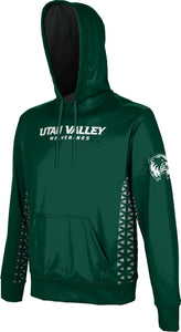 Utah Valley University: Boys' Pullover Hoodie - Geometric