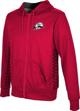 Load image into Gallery viewer, Southern Utah University: Boys' Full Zip Hoodie - Geometric