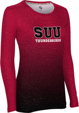 Load image into Gallery viewer, Southern Utah University: Women's Long Sleeve Tee - Ombre