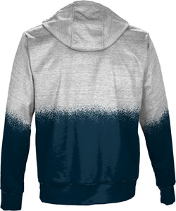 Utah State University: Men's Full Zip Hoodie - Spray