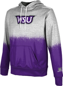 Weber State University: Men's Pullover Hoodie - Spray