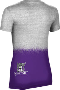 Weber State University: Women's T-shirt - Spray