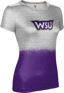 Weber State University: Girls' T-shirt - Spray