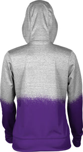 Weber State University: Women's Full Zip Hoodie - Spray