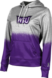 Weber State University: Women's Pullover Hoodie - Spray