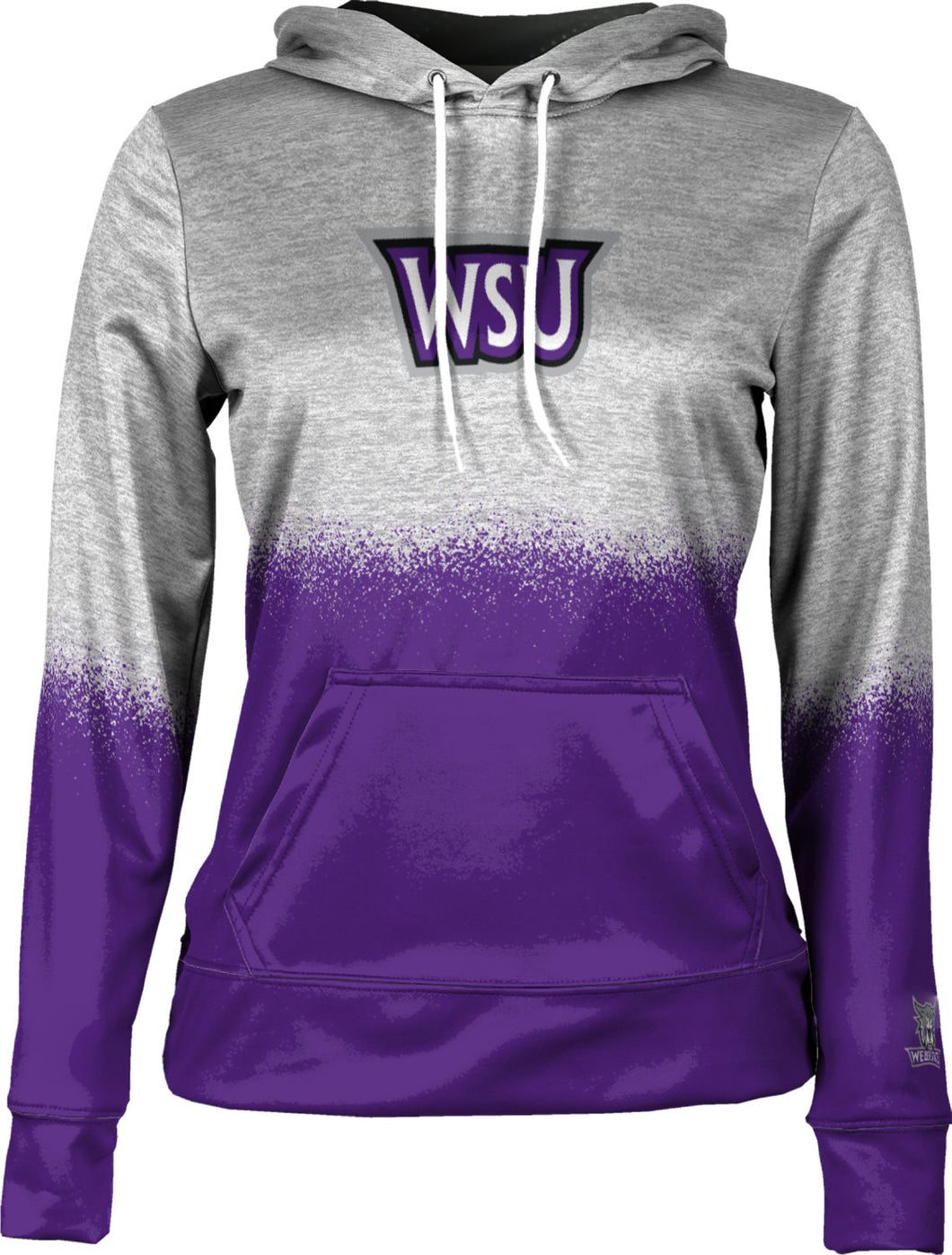 Weber State University: Girls' Pullover Hoodie - Spray