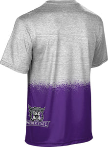 Weber State University: Boys' T-shirt - Spray