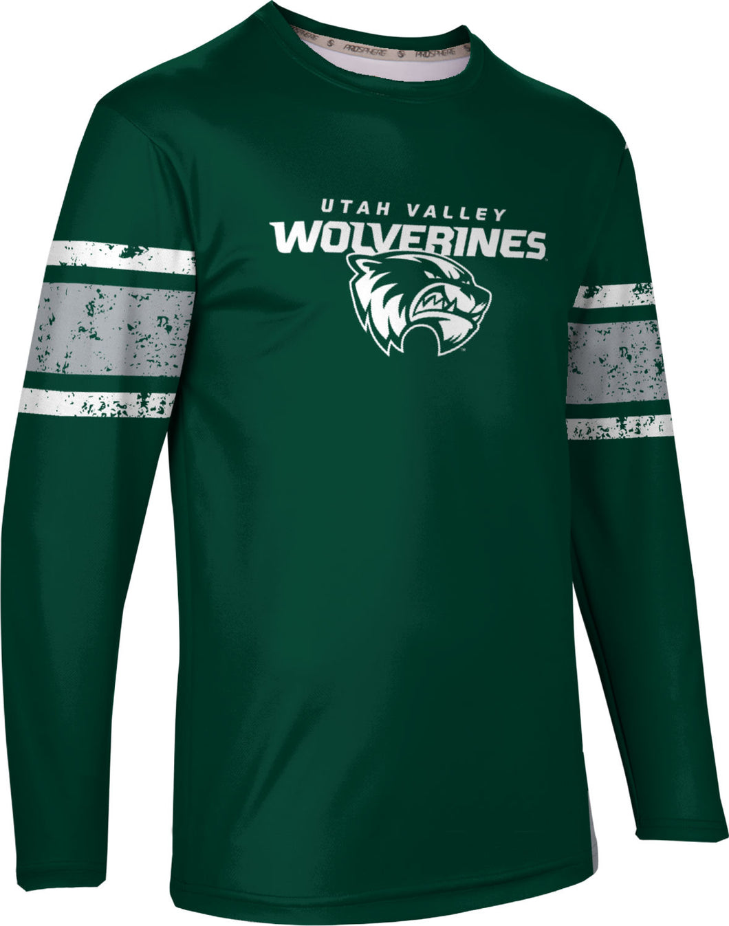 Utah Valley University: Men's Long Sleeve Tee - End Zone