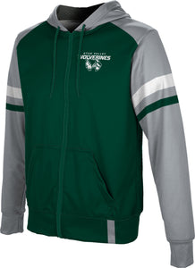 Utah Valley University: Boys' Full Zip Hoodie - Old School
