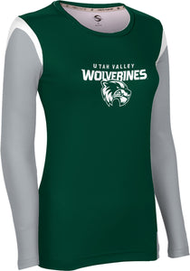Utah Valley University: Women's Long Sleeve Tee - Tailgate