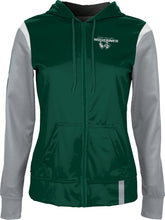 Load image into Gallery viewer, Utah Valley University: Women's Full Zip Hoodie - Tailgate