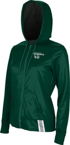 Utah Valley University: Women's Full Zip Hoodie - Solid