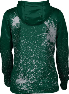 Utah Valley University: Women's Full Zip Hoodie - Splatter