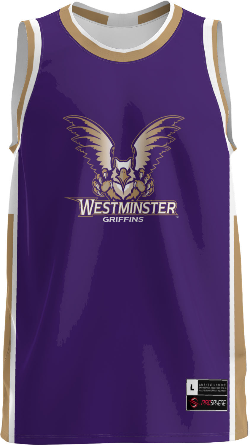 Westminster College: Adult Replica Basketball Fan Jersey - Modern