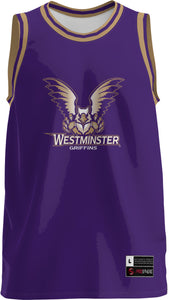 Westminster College: Adult Replica Basketball Fan Jersey - Retro