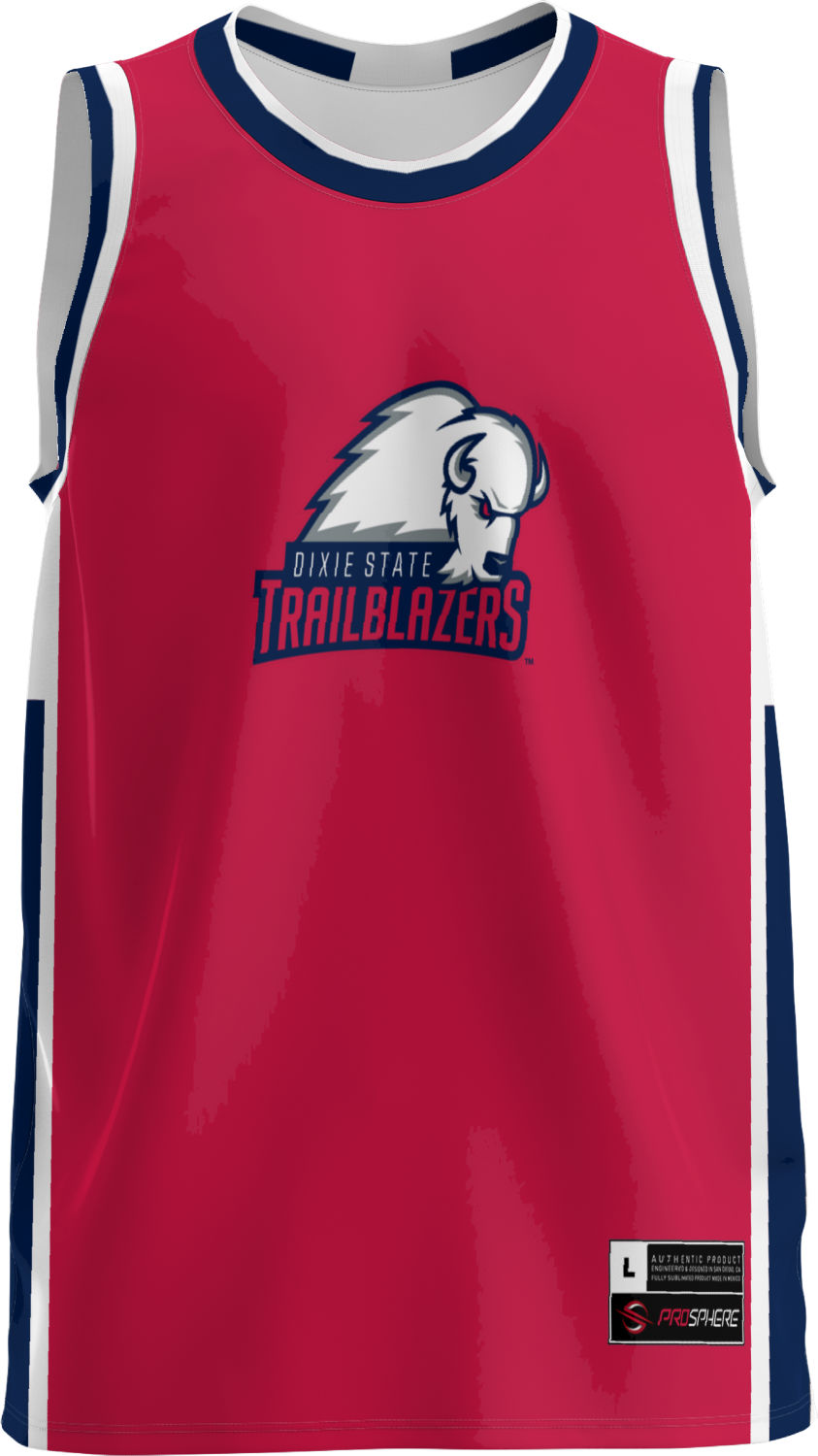 Dixie State University: Youth Replica Basketball Fan Jersey - Modern
