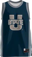 Load image into Gallery viewer, Utah State University Adult Replica Basketball Fan Jersey - Classic