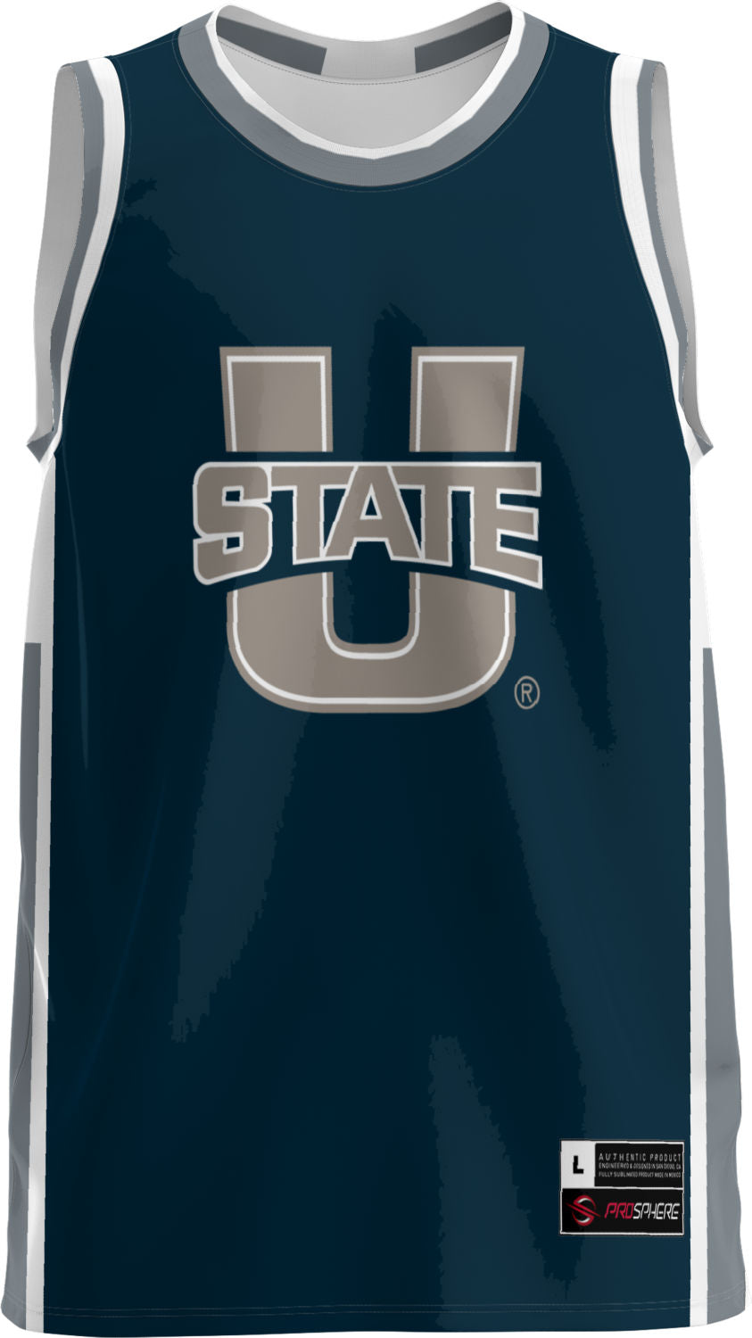 Utah State University Adult Replica Basketball Fan Jersey - Modern