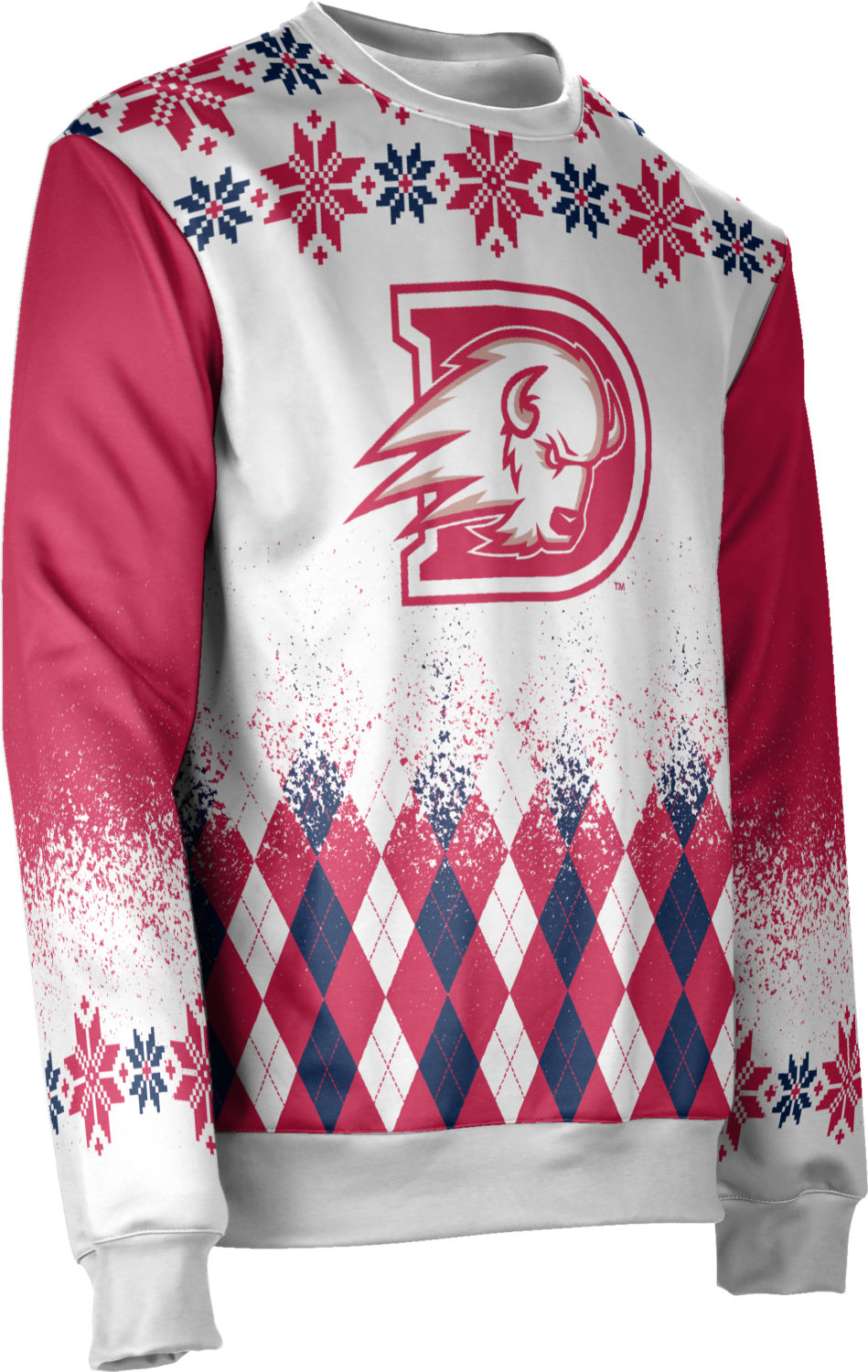 Dixie State University: Unisex Ugly Holiday Sweater - Jolly