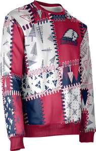 Dixie State University: Unisex Ugly Holiday Sweater - Quilt