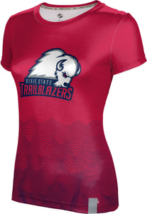 Dixie State University: Women's T-shirt - Warp