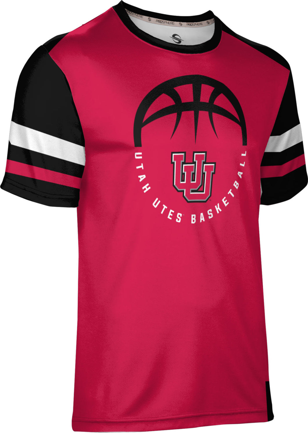 University of Utah Men's Basketball T-shirt - Old School