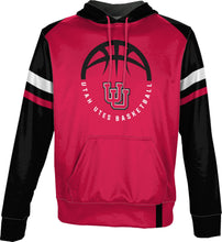 Load image into Gallery viewer, University of Utah Men's Basketball Pullover Hoodie - Old School