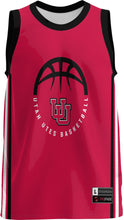 Load image into Gallery viewer, University of Utah Adult Replica Basketball Fan Jersey - Classic