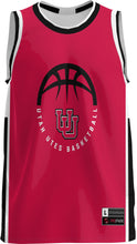 Load image into Gallery viewer, University of Utah Adult Replica Basketball Fan Jersey - Modern