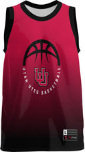 Load image into Gallery viewer, University of Utah Youth Replica Basketball Fan Jersey - Ombre