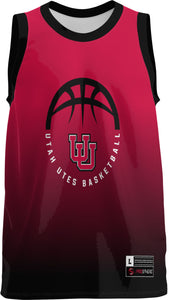 University of Utah Youth Replica Basketball Fan Jersey - Ombre