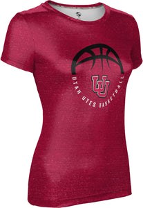 University of Utah: Women's Basketball T-shirt - Heather