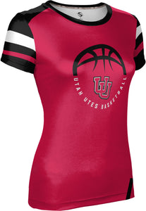 University of Utah: Women's Basketball T-shirt - Old School