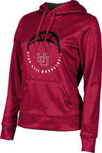 Load image into Gallery viewer, University of Utah: Women's Basketball Pullover Hoodie - Heather