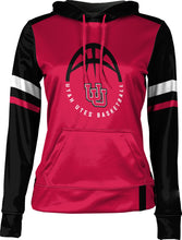 Load image into Gallery viewer, University of Utah: Girls' Basketball Pullover Hoodie - Old School