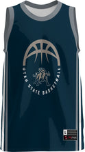 Load image into Gallery viewer, USU Basketball Adult Replica Fan Jersey - Classic