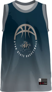USU Basketball Youth Replica Fan Jersey - Ombre