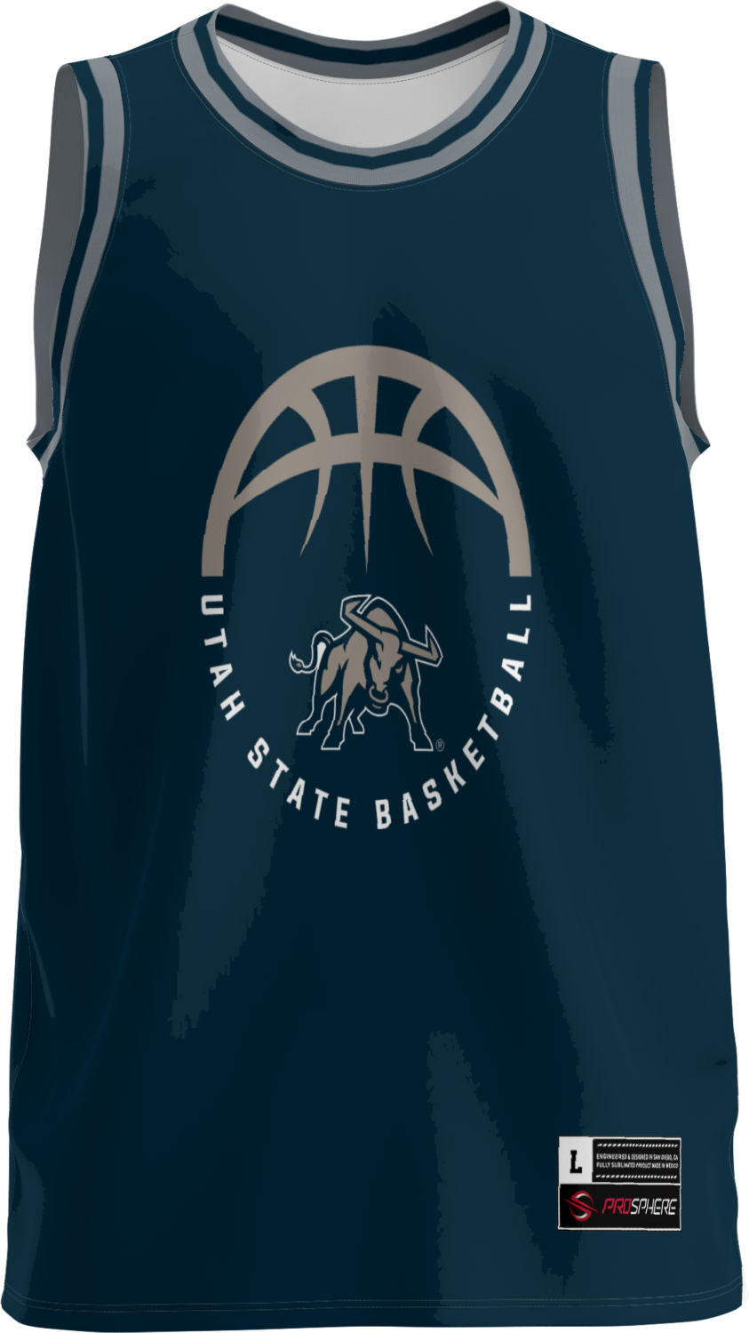 USU Basketball Youth Replica Fan Jersey - Retro