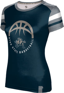 Utah State University: Women's Basketball T-shirt - Old School