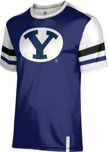 Load image into Gallery viewer, Brigham Young University: Men's T-shirt - Old School