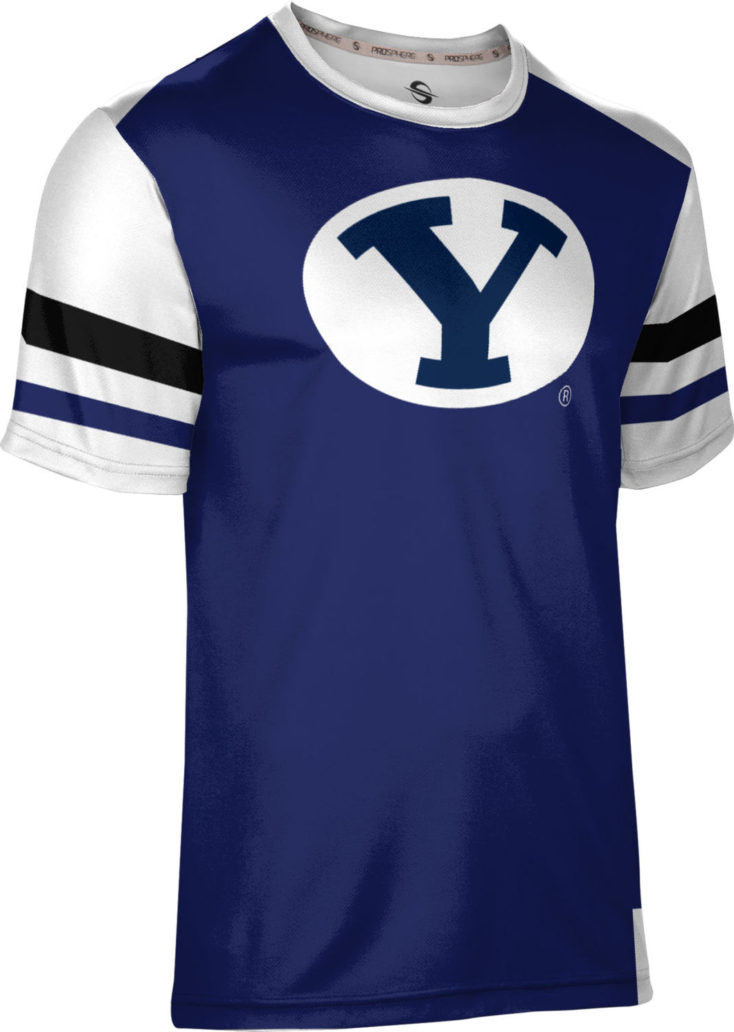 Brigham Young University: Men's T-shirt - Old School