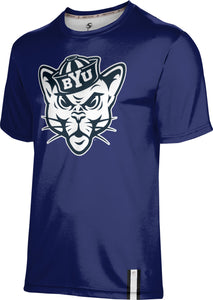 Brigham Young University: Boys T-shirt - Solid