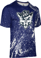 Load image into Gallery viewer, Brigham Young University: Boys' T-shirt - Splatter