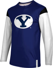 Load image into Gallery viewer, Brigham Young University: Men's Long Sleeve Tee - Tailgate
