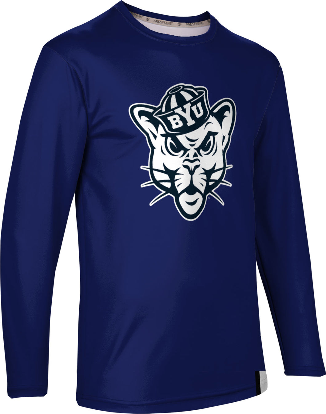 Brigham Young University: Men's Long Sleeve Tee - Solid